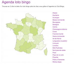 Agenda loto bingo 2015